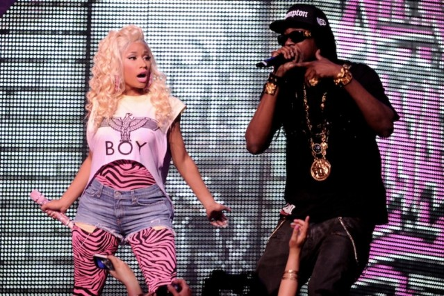 Nicki Minaj and 2 Chainz / Photo by Getty Images