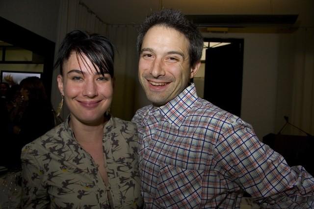 Kathleen Hanna And Adam Ad Rock Horovitz