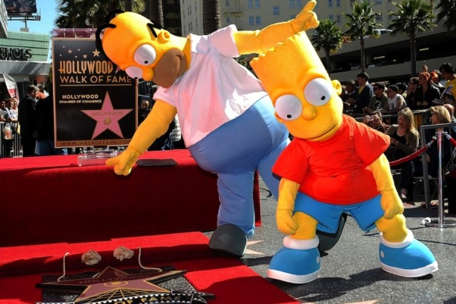 The Simpsons / Photo by Getty Images