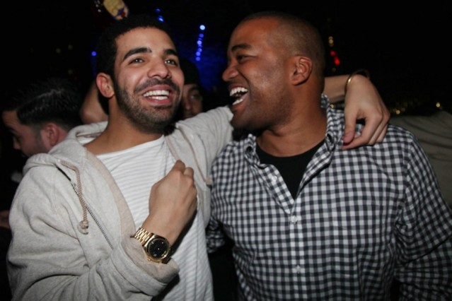 Drake with Chris Lighty / Photo by Getty Images