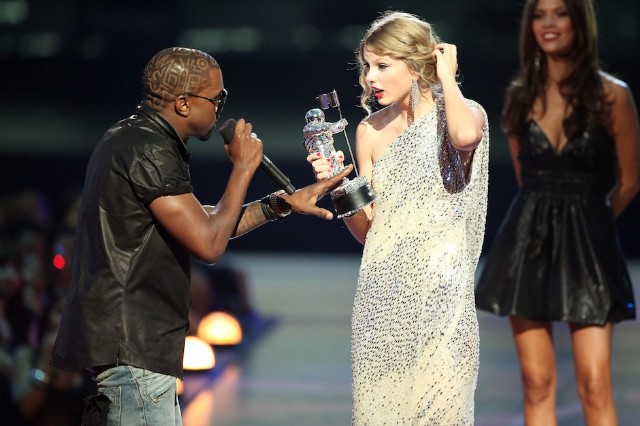 Kanye West and Taylor Swift / Photo by Getty Images