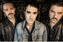 Jon Spencer Blues Explosion's Judah Bauer, Jon Spencer, and Russell Simins