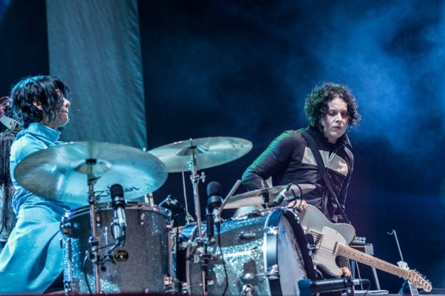 Jack White playing a damn festival / Photo by Getty Images