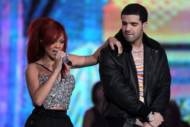 The heavily nominated Rihanna and Drake / Photo by Getty Images