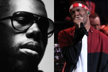 Flying Lotus and Frank Ocean / Photos via Getty Images