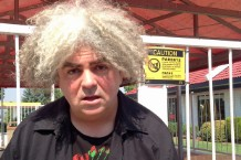 Buzz Osbourne / Photo courtesy of the Melvins