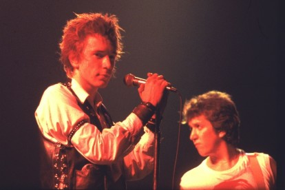 The Sex Pistols' final show / Photo by Getty Images