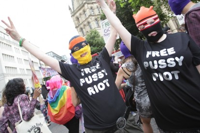 Pussy Protestors / Photo by Getty Images<p>