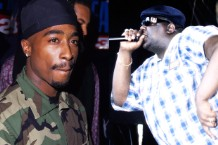 Tupac and Biggie / Photos by Getty Images