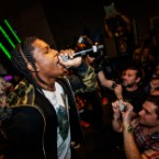 Closing Ceremony: A$AP Rocky Storms Adidas' Soho Store On Fashion Week's Final Night