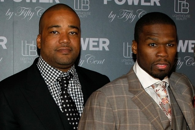 Chris Lighty and 50 Cent in 2009 / Photo by Getty Images