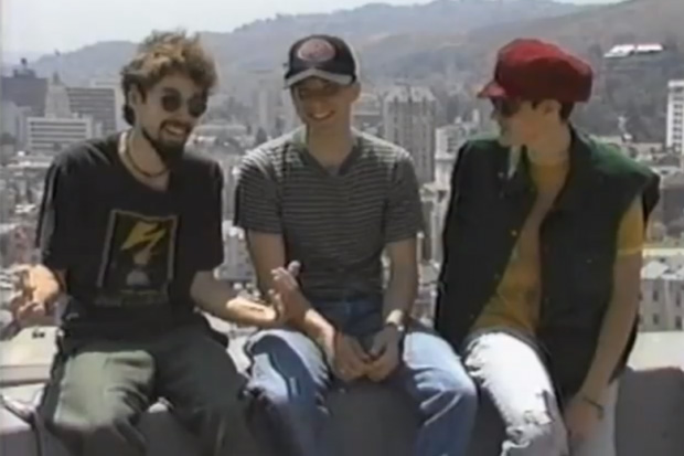 The Beastie Boys in 1989: not joking (just joking, they are joking)