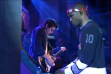 Frank Ocean with John Mayer on 'SNL'