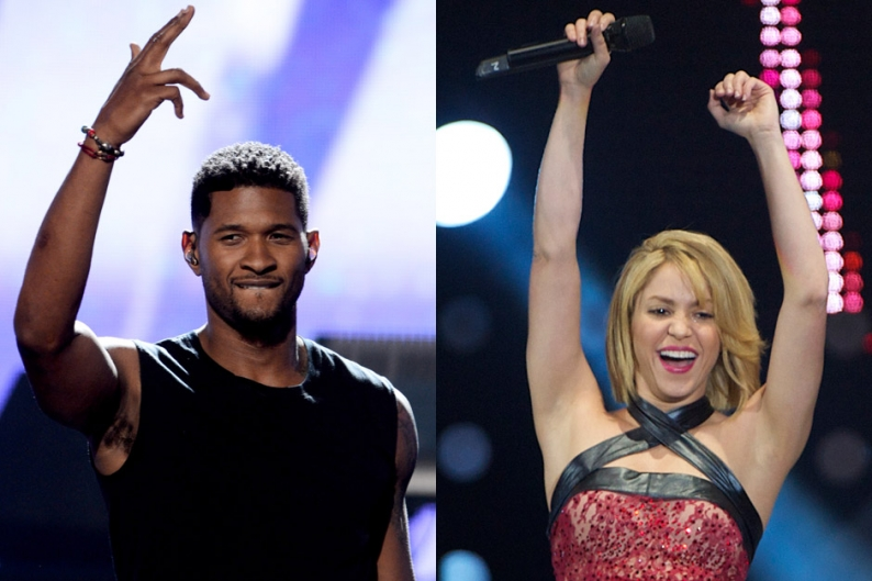 usher and shakira to join nbc's the voice