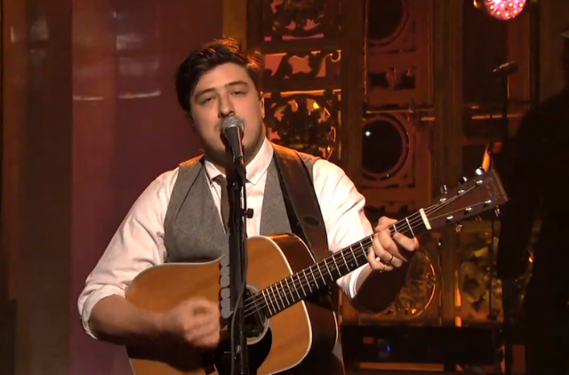 Hey Dude Watch Mumford Amp Sons Invade Saturday Night Live