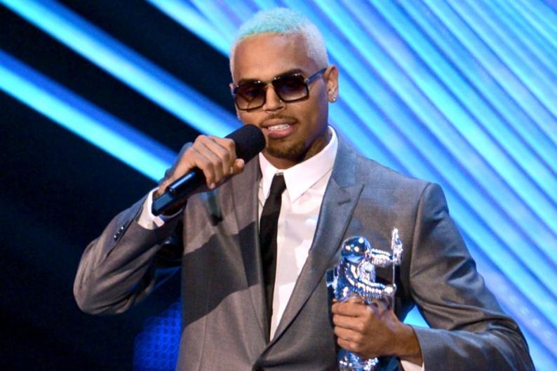 Chris Brown probation marijuana Rihanna