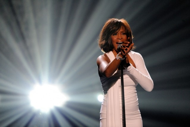 Whitney Houston TV tribute Usher Celine Dion