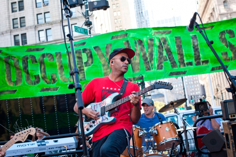 tom morello occupy wall street