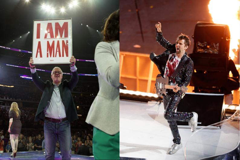 Glenn Beck and Muse's Matthew Bellamy