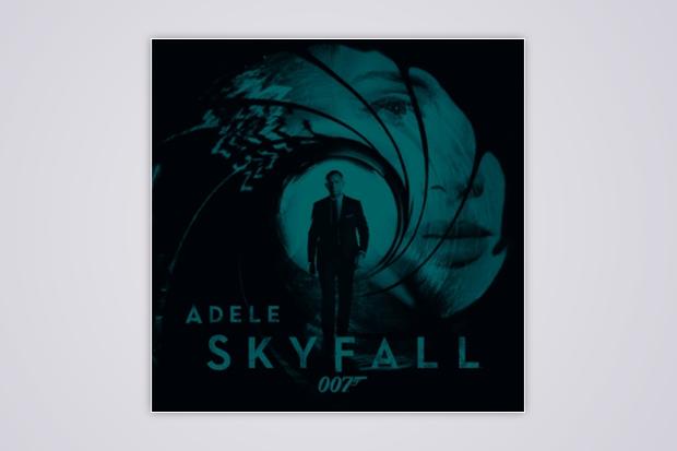 """Adele's """"Skyfall"""" single art"""
