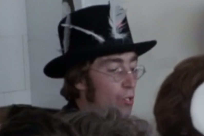 The Beatles John Lennon Magical Mystery Tour unreleased footage