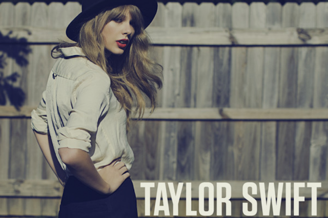 Taylor Swift's 'Red' single art