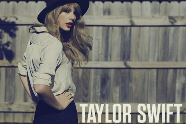 Taylor Swift's 'Red' single art