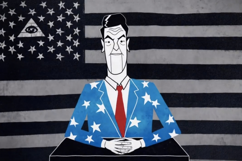 Killer Mike Overthrows The Illuminati In Reagan Video Spin