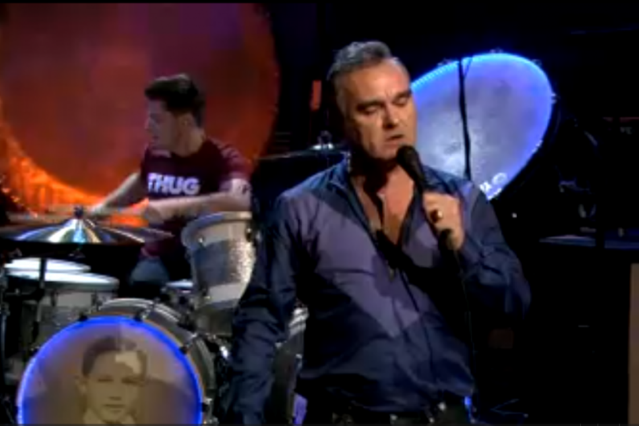 Morrissey on 'Fallon'