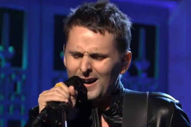 Muse's Matthew Bellamy on 'Saturday Night Live'