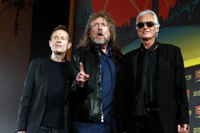 Led Zeppelin Celebration Day reunion