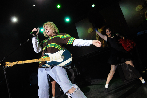 Weird Al performs in London, 2010 / Photo by Jim Dyson/Getty