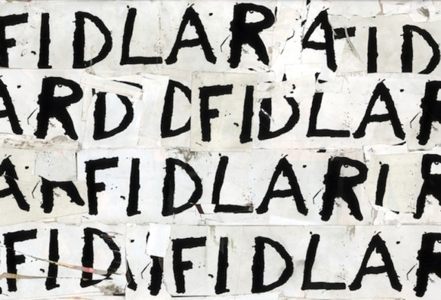 FIDLAR LP Tour 'White On White' Song album