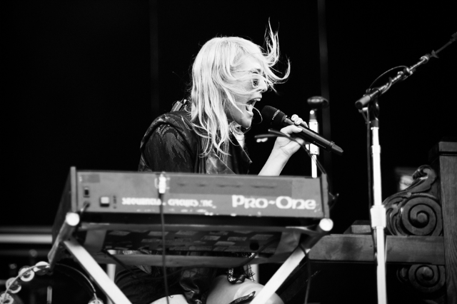 Metric's Emily Haines / Photo by Chad Wadsworth