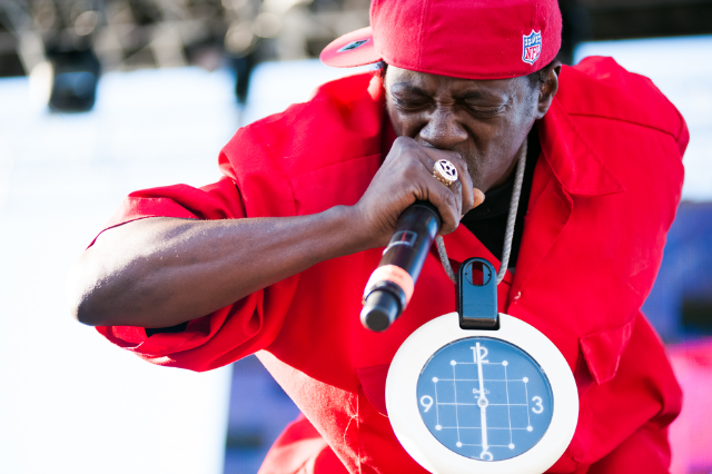 Flavor Flav / Photo by Wilson Lee