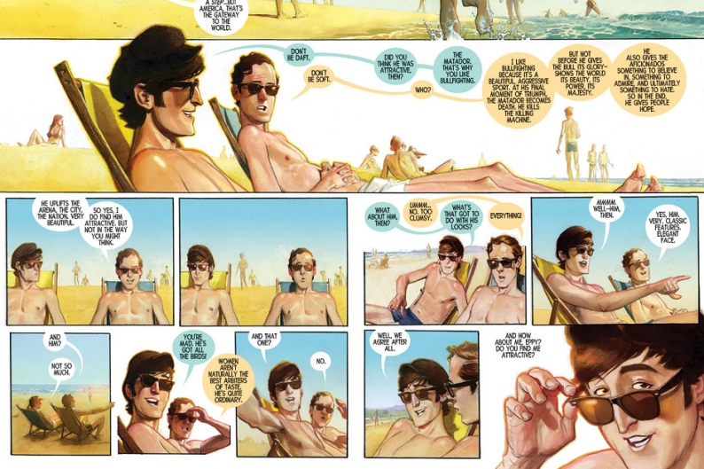 The Fifth Beatle Brian Epstein Comic Book