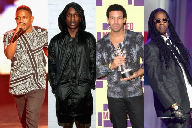 A$AP Rocky Drake 2 Chainz Kendrick Lamar Problems