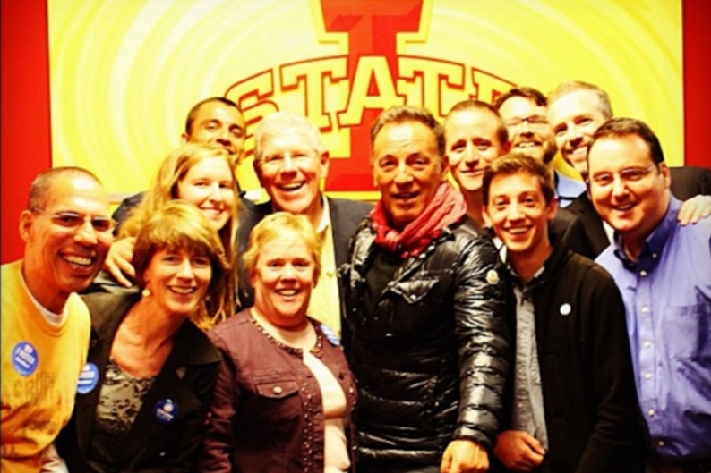 Bruce Springsteen in Iowa