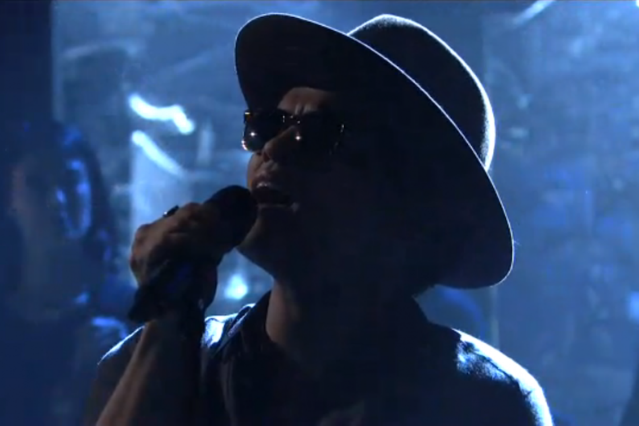 Bruno Mars on 'Saturday Night Love'