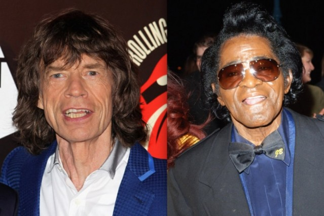 mick jagger james brown film
