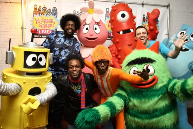 The Roots Yo Gabba Gabba We Have Fun / Photo by Getty Images