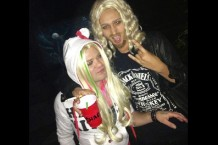 Sum 41 Deryck Whibley Halloween Avril Lavigne Chad Kroeger Nickelback