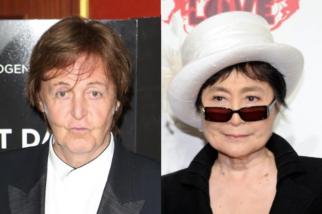 Paul McCartney Affirms Yoko Ono Didn't Break Up the ...