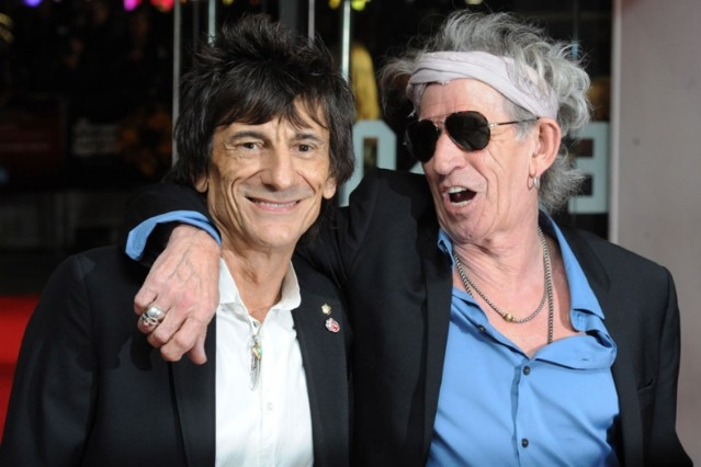 ronnie wood divorce auction