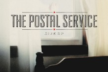 Postal Service Give Up Sub Pop platinum decade