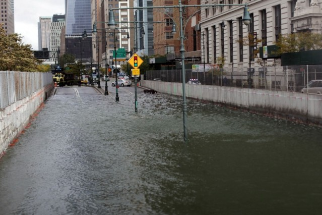 hurricane sandy new york city