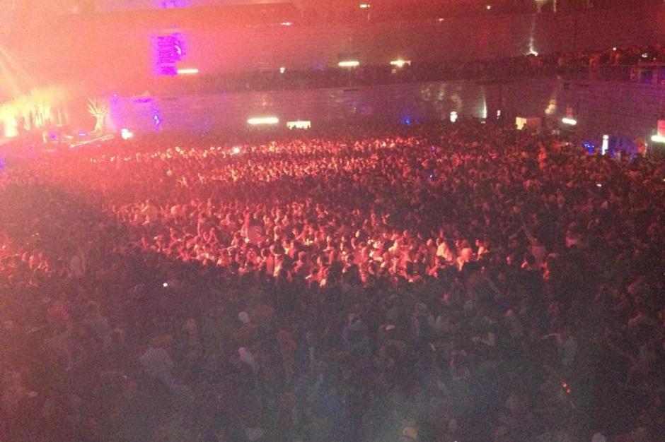 Thriller Music Park (photographed by @patriloe, via Twitter/El País)