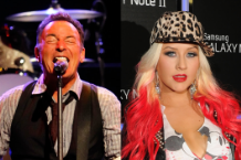 Bruce Springsteen and Christina Aguilera