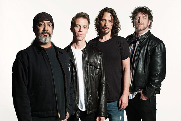 Soundgarden's Kim Thayil, Matt Cameron, Chris Cornell, Ben Shepherd