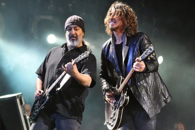 Soundgarden's Chris Cornell and Kim Thayil 'King Animal'